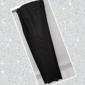 Bachrach black  dress pants with cuff 34x32
